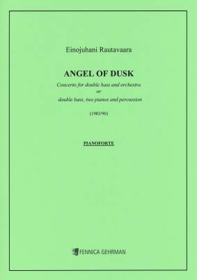 Angel of Dusk, reduction for piano