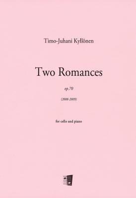 Two Romances / Kaksi Romanssia op. 70