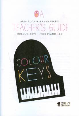 Colour Keys the Piano ABC, Teacher's Guide A