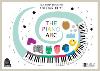 Colour Keys the piano ABC (Book B)
