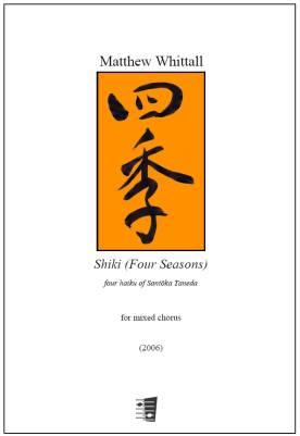 Shiki (Four Seasons) for mixed chorus