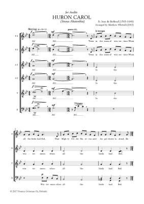Huron Carol for mixed choir (10 kpl/cps)