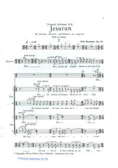Jesurun Op. 61