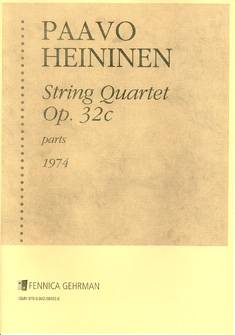 String Quartet No. 1 op 32 c (1974)