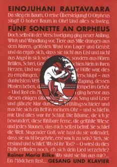 Fünf Sonette an Orpheus