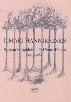 9 pianokappaletta / 9 Piano Pieces