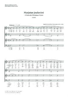Marjatan jouluvirsi / A Kalevala Christmas Hymn