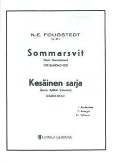 Sommarsvit / Kesäinen sarja op 23a