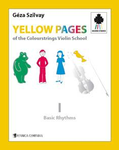 Yellow Pages of the Colourstrings Violin School
