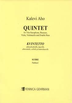 Quintet for Alto Saxophone, Bassoon, Viola, Cello and Double Bass