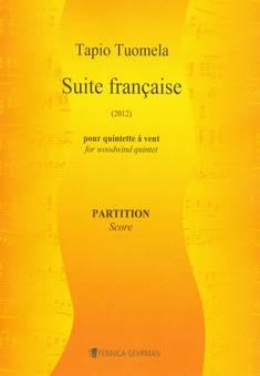 Suite française for wind quintet - Score  & parts