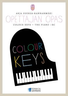 Colour Keys the Piano ABC, opettajan opas A