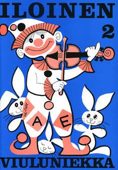 Iloinen viuluniekka 2 (+ säestyskirja)