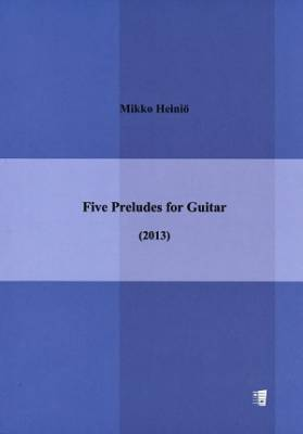 Five Preludes for Guitar