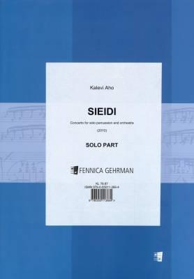 Sieidi - Concerto for Percussion : SOLO PART