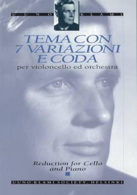 Tema con 7 variazioni e coda op. 44 : cello & piano