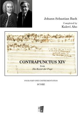 Contrapunctus XIV : four-part instrumentation : score and parts
