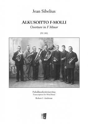 Overture F minor :  Alkussoitto f-molli : large score