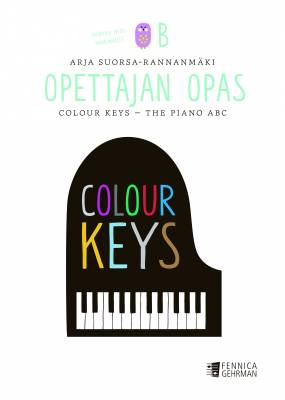 Colour Keys - the Piano ABC: opettajan opas, kirja B
