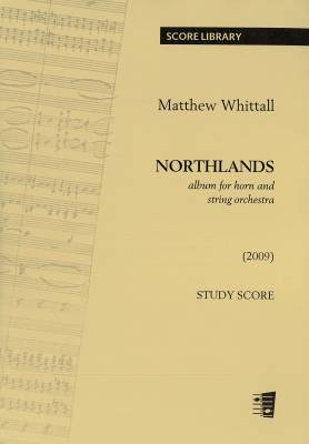 Northlands (album for horn and strings) : study score