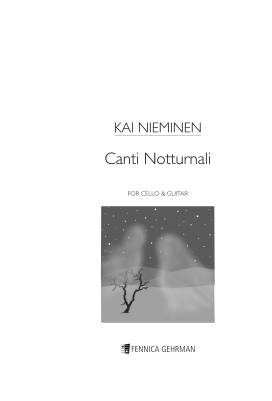 Canti notturnali : for cello and guitar
