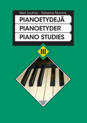 Pianoetydejä 3 - Piano studies 3 (piano) - Pianoetyder 3