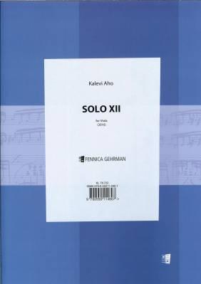 Solo XII - Viola
