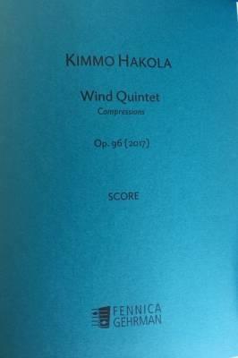 Wind Quintet op. 96 (2017) - Score