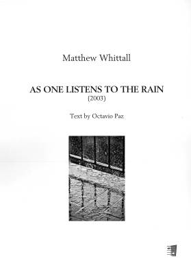 As One Listens to the Rain (SATB)