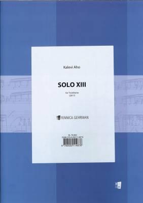 Solo XIII - Trombone