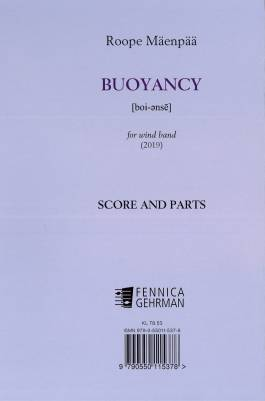 Buoyancy for wind band : score and parts