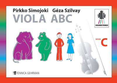Colourstrings Viola ABC (Book C)