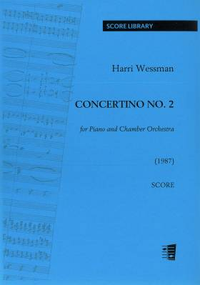 Concertino No. 2 for Piano and Chamber Orchestra - Score, piano reduction, parts (33221)