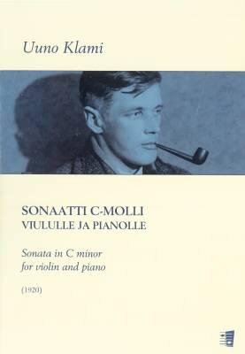 Sonata in C minor - Sonaatti c-molli (vl, pf) (1920)