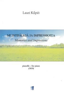 Muistijälkiä ja impressioita / Memories and Impressions - piano