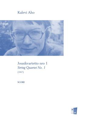 String Quartet No. 1 - score and parts
