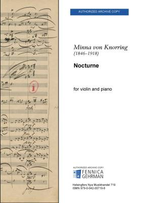 Nocturne - For violin and piano