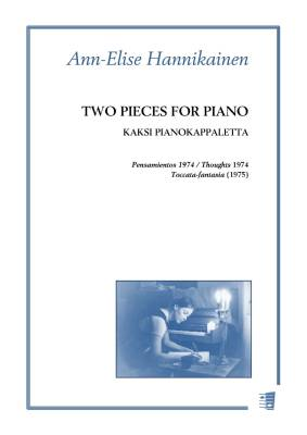 Two Pieces for Piano / Kaksi pianokappaletta