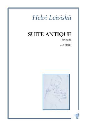 Suite antique op. 3 - Piano