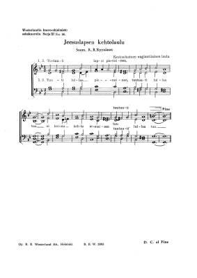 Jeesuslapsen kehtolaulu (PDF)