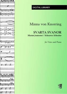 Svarta svanor - Mustat joutsenet - Schwarze Schwäne - Voice/piano (PDF)