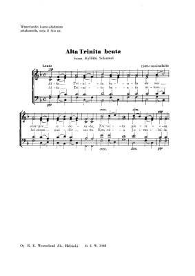 Alta Trinita beata (PDF)