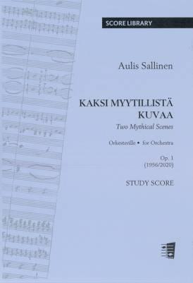 Two Mythical Scenes : Kaksi myytillistä kuvaa op. 1 (study score)