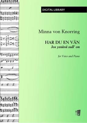 Har du en vän - Jos ystävä sull' on - Voice/piano (PDF)