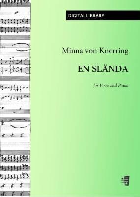 En slända - Voice/piano (PDF)