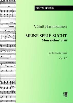 Meine Seele sucht / Mun sielun' etsii op. 4/2 - Voice/piano (PDF)