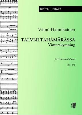 Talvi-iltahämärässä / Vinterskymning op. 4/1 - Voice/piano (PDF)