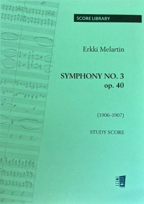 Symphony No. 3 op. 40 F major - Study score