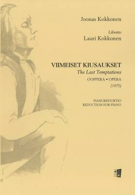 Viimeiset kiusaukset / The Last Temptations - Piano reduction