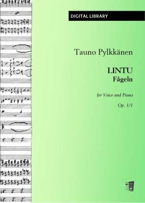 Lintu / Fågeln op. 1/1 - Voice/piano (PDF)